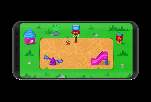 صفحه اصلی بازی