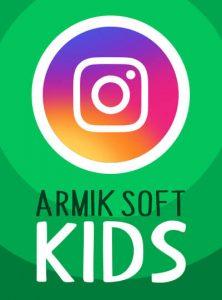 صفحه اینستاگرام آرمیک کودکان