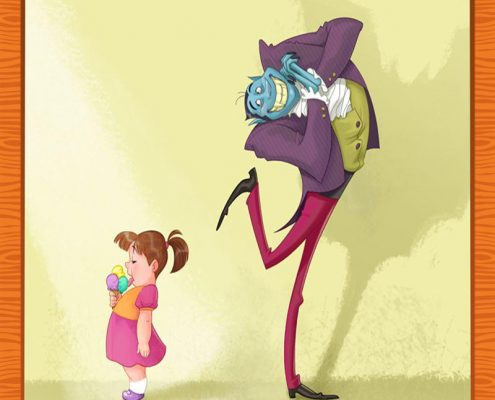 چگونگی برخورد کودکان با غریبه ها