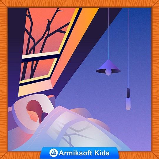 چگونه به کابوس شبانه کودکان پایان دهیم؟