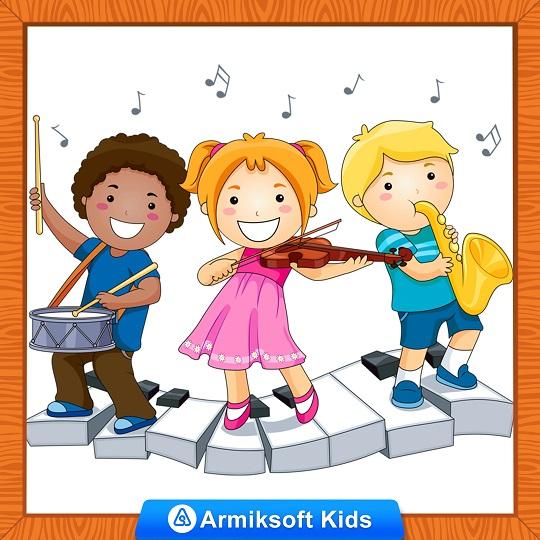 تاثیر موسیقی بر کودک