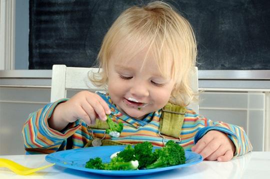 روش عادت دادن کودکان به خوردن سبزیجات