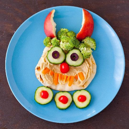 هوموس غذایی سالم