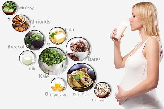 مصرف مکمل کلسیم در بارداری